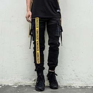 [PREMIUM] All Black Rugged Cargo Pants