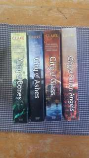 The Mortal Instruments book bundle (books 1,2,3&4)