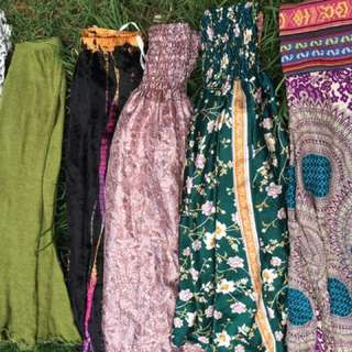 Tree of life and other hippie harem pants