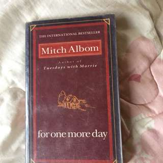 Mitch Almob For One More Day