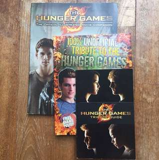 The Hunger Games Supplementary Books