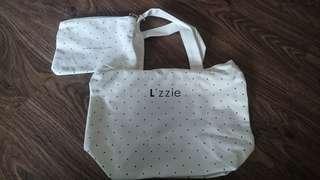 Polka Dot Hand Bag