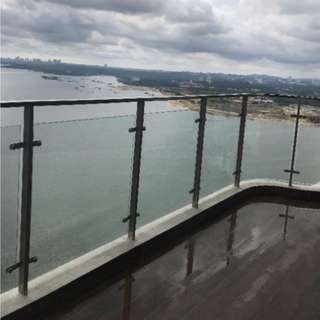 Freehold Country Garden Danga Bay 3+1 Bedroom, Just TOP. Full Seaview