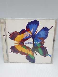 W-INDS AGEHA ALBUM CD & DVD