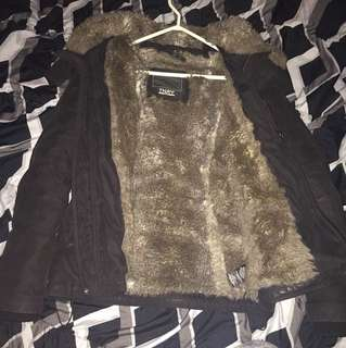 TNA full fur winter jacket