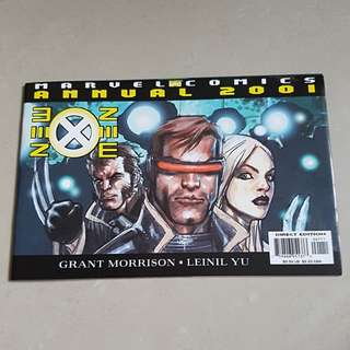 New X-Mwn Annual 2001