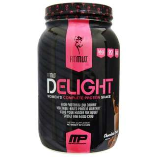 FitMiss, Delight, Women's Complete Protein Shake, Chocolate Delight, 2 lbs (907 g)