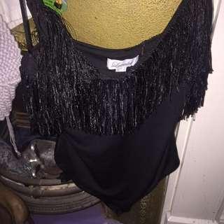 Frilly bodysuit