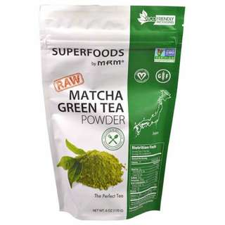 Raw Green tea powder 170 g