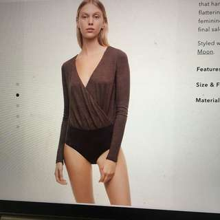 Aritzia Bodysuit (new with tags)