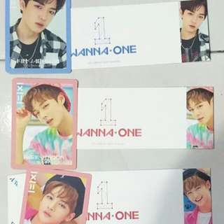Wanna One To Be One PC + Cover Sleeve member set ONLY