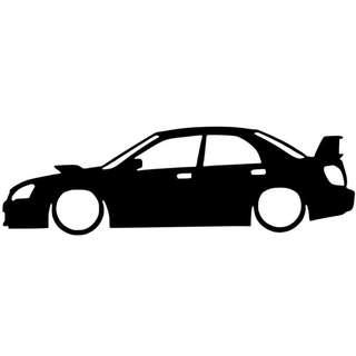Subaru Impreza Silhouette Decal