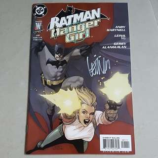 Batman/Danger Girl (Sign by Artist LEINIL YU)