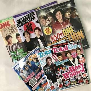 One Direction and 5SOS Bundle Magazines