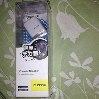 Sale*日本 Elecom ios/andriod 兩用 藍牙喇叭