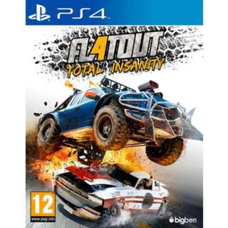 PS4 FLATOUT 4 Total Insanity