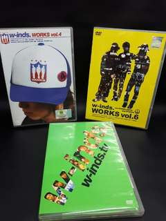 3 DvD W-INDS