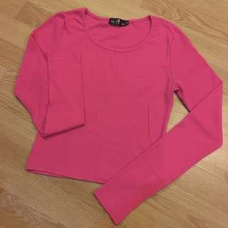 Long sleeve cropped too