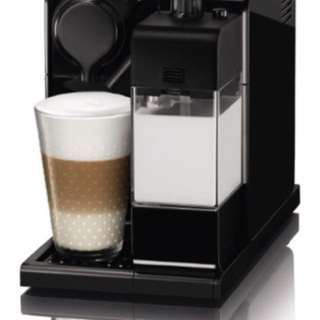 Nespresso lattissima Black with warranty