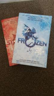 """Frozen"" and ""Stolen"" by Melissa De La Cruz and Michael Johnston"