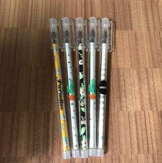 Cute Pens (Blue Ink)