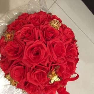 結婚欄門花球 結婚用品