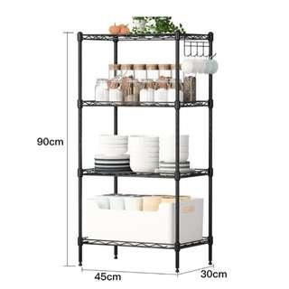 Metal storage rack kitchen shelf - PreOrder
