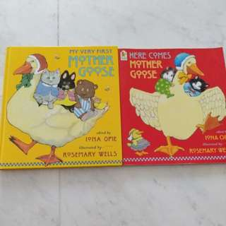 Clearance! Mother Goose Books by Iona Opie & Rosemary Wells
