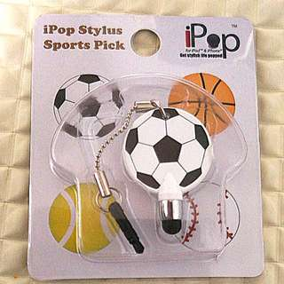Ipod stylus sports pick (for iPod and iPhone)