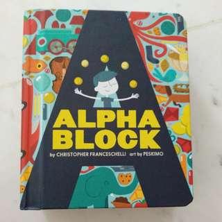 Almost new Alphablock Alphabet book