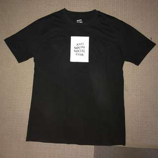 Anti social social club box tee