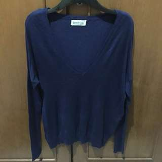 Stradivarius V Neck Knit Shirt