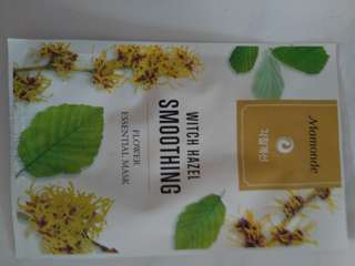 Lotus or Witch Hazel Face mask direct from Korea - buy 3 free 1