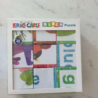 Eric Carle Block Puzzle