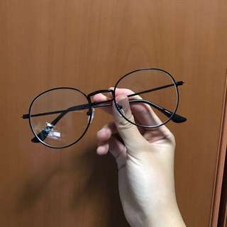 Korean hipster round oval big spectacles glasses