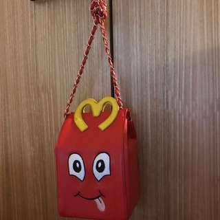 Funky rare happy meal shoulder bag