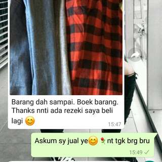 RESPON CUSTOMER😍⚘✔