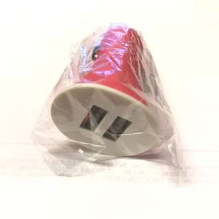 2 port car charger (2.1A total)