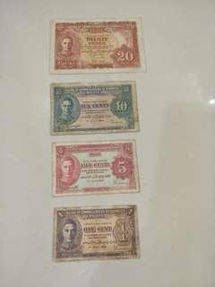 Malaya old notes