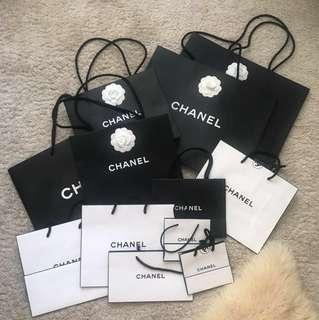 Chanel shopping paper bag紙袋