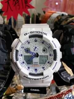"""卡西歐品牌膠帶手錶""""Casio""""""""G-Shock""""日本機芯一年保養"""