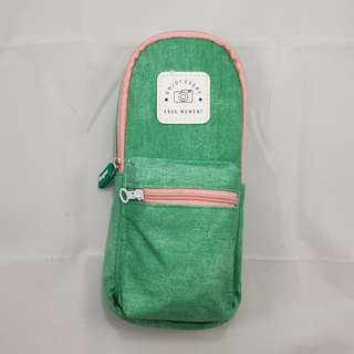 Backpack Pencil Case (Green)