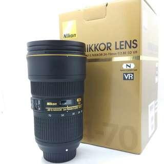 Nikon AF-S 24-70mm F2.8G VR