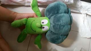 Broccoli stuffed toy