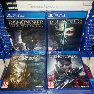 PS4 GAMES COLLECTION 2.