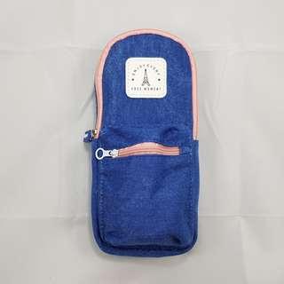 Backpack Pencil Case (Blue)