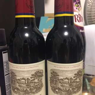 Carruades de Lafite 2007 half bottle Wine x2