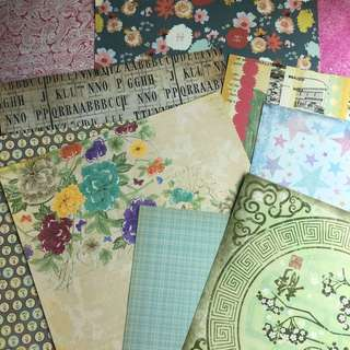 SALE|| SCRAPBOOK PAGES
