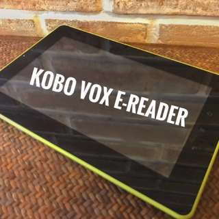 Kobo Vox E-Reader ORIGINAL