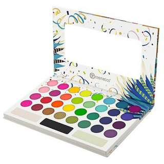 (FREE MAILING) BH Cosmetics Take Me Back to Brazil 35 Color Pressed Pigment Palette